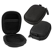 Hard EVA 'Shell' Protective Storage Case Compatible with SOUNDMAGIC E50S Earphones - by DURAGADGET