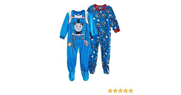 78ca07aa7 Amazon.com  Thomas and Friends Fleece Footed Blanket Pajama Sleeper ...