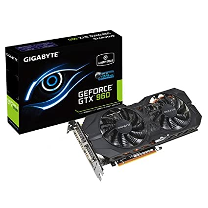 Gigabyte GeForce GTX 960 WF2OC-2GD - Tarjeta gráfica de 2 GB