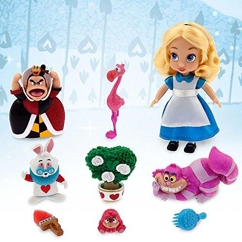 Disney Animators' Collection Alice Mini Doll Play Set