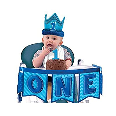 1st Birthday Novelty Crown: Toys & Games