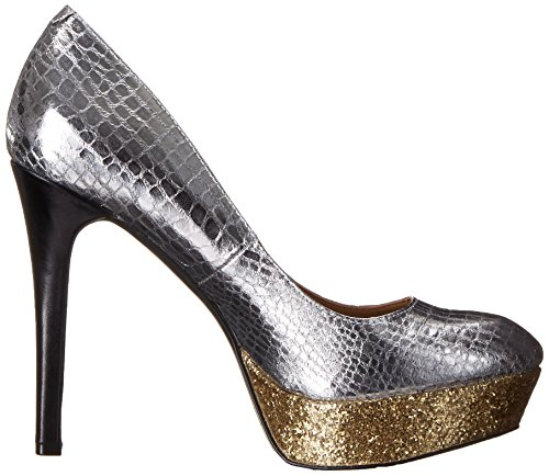 BCBGeneration Dress BG Gold Pump Silver B Mase Women's OPqgxCOB