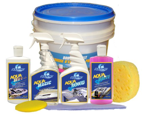 aqua-pro-professional-8341-complete-boat-care-kit-wash-wax-shine-and-protect