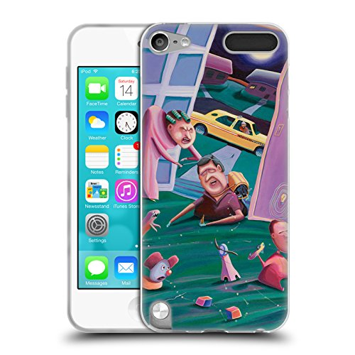 Official Rock Demarco The Accidental Creation Of Miniature Golf Illustrations Soft Gel Case for Apple iPod Touch 5G 5th Gen - Ipod Touch 5th Gen Acc