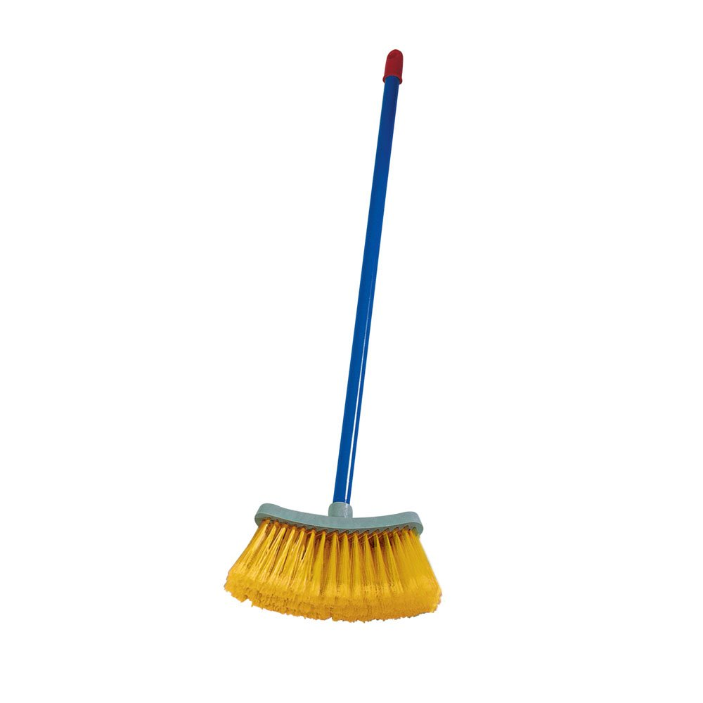 Aricasa Arcobaleno Broom and Extension Handle, Orange 127/C