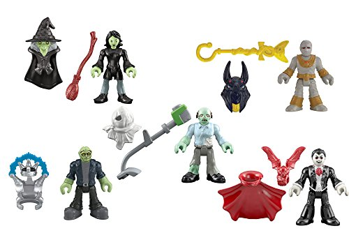 Fisher-Price Imaginext Mini Figures, (Zombie Stuff For Halloween)