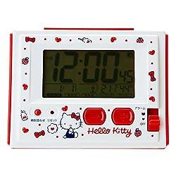 Hello kitty Digital alarm clock milk
