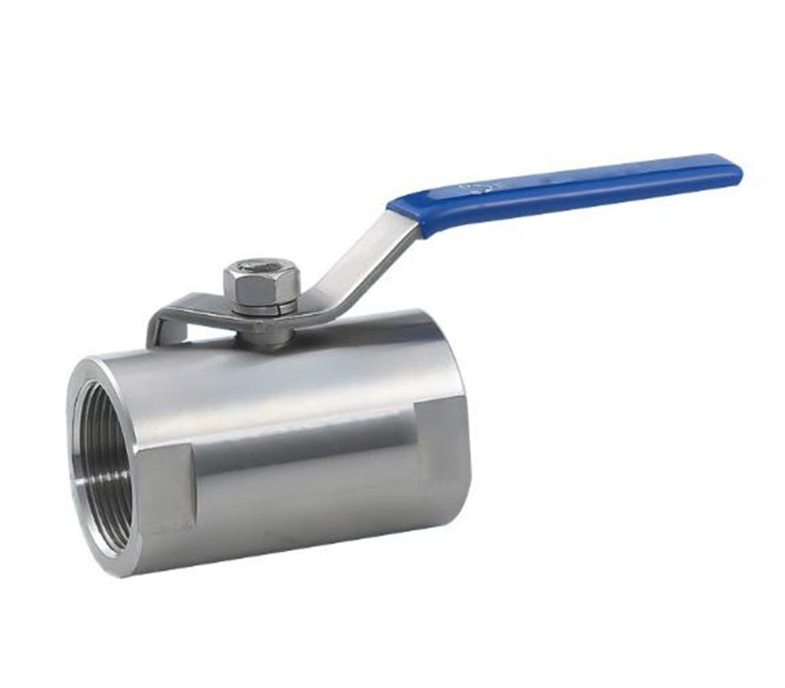 XIAO ZHI YUN One Piece Ball Valve with Internal Thread for Home use 1-1//2