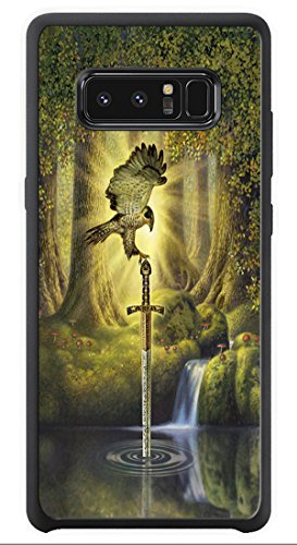 AOFFLY Case for Samsung Galaxy Note 8 - Dan Craig - The Telling Pool - Shock Absorption Protection Phone Cover Case ()
