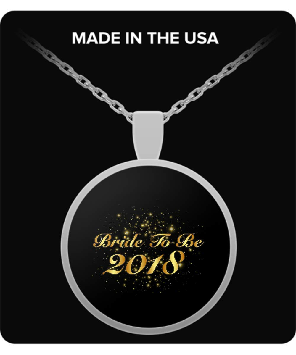 De Look Bride to Be 2018 - Bridal Shower Gifts for Bride Necklace