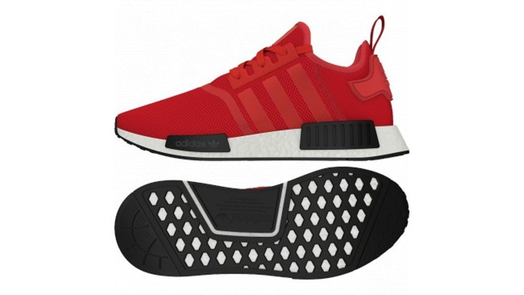 adidas Originals NMD_R1 Womens Running Trainers Sneakers B01KGD78A0 11 D(M) US Red