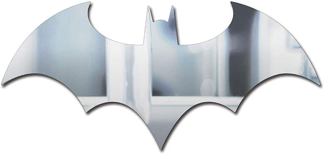 Paladone DC Comics Officially Licensed Merchandise - Batman Logo Mirror - Wall Decor