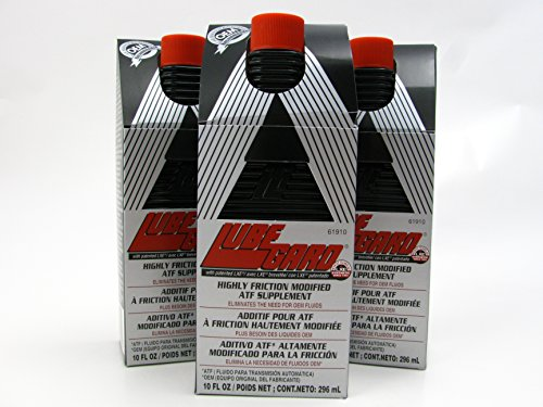 LUBEGARD Lube Gard Highly Friction Modified Automatic Transmission Protect Black 3 pack