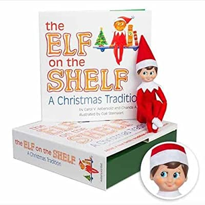 Elf on the Shelf Boy Light with Gingerbread Costume (Amazon Exclusive) | Toddler Development Toys
