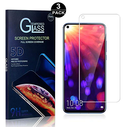 9H High Transparency Screen Protector Film for Huawei Honor 8C CUSKING Huawei Honor 8C Tempered Glass Screen Protector Drop Fall Protection 2 Pack