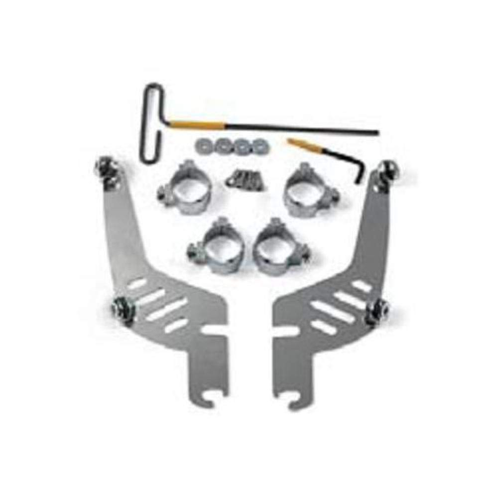 Memphis Shades MEM9974 Quick-Change Mount Kit (for Fats/Slim for Kawasaki Vulcan, and Suzuki VZ1600) 82704-2