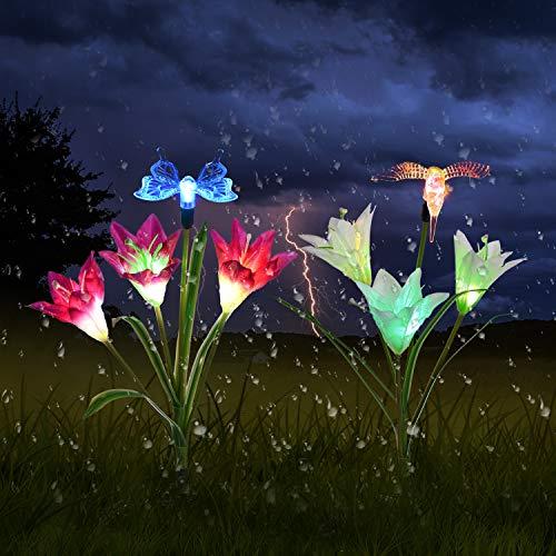 Butterfly Garden Solar Lights in US - 9