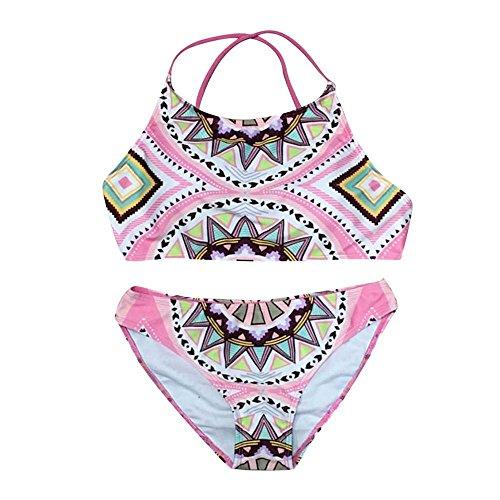 Damen Vintage Bikini SetTonsee Mädchen Badeanzug Bademode Frauen ...