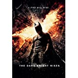 "Batman: The Dark Knight Rises - Movie Poster (Regular Style / A Fire Will Rise) (Size: 24"" x 36\"")"