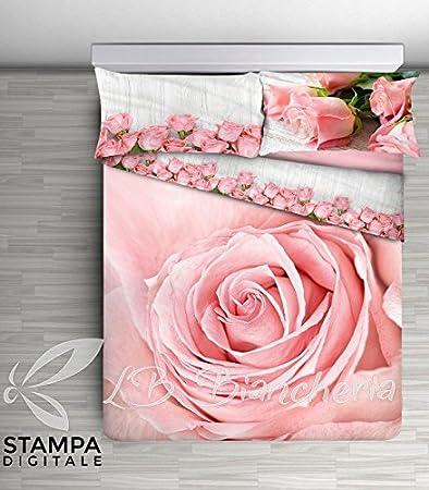 lenzuola matrimoniali rosa