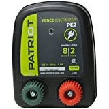 Patriot PE2 Electric Fence Energizer, 0.10 Joule