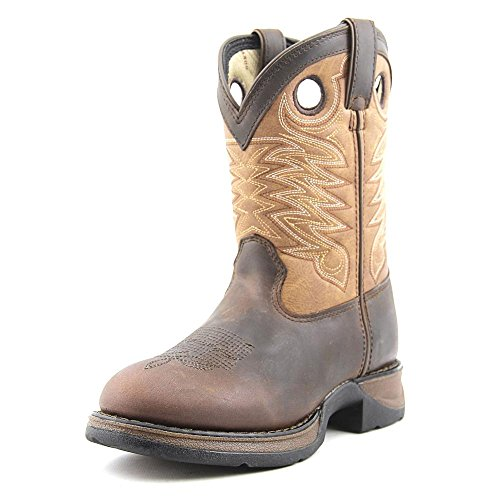 """UPC 883802641356, Durango Boy's 8"""" Raindrop Western Boot,Brown,1 M Little Kid"""