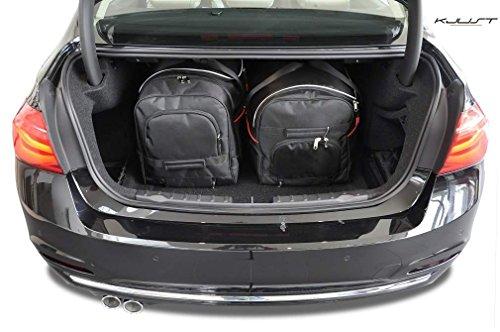 CAR BAGS AUTO-TASCHEN MASSTASCHEN ROLLENTASCHEN BMW 3 SEDAN, F30, 2012- - KJUST