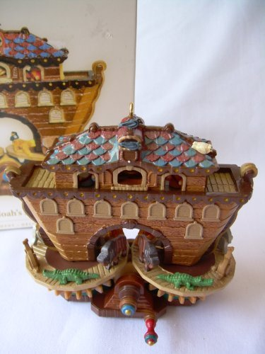 MIB 2006 Hallmark Ornament Noah's Ark Magic Windup ()