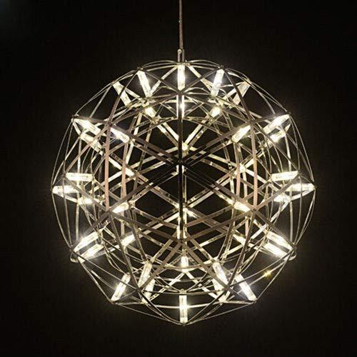FidgetGear 6W/10W/15W LED Firework Pendant Light Ball-Shape Ceiling Lamp Fixture Canteen 15W(45cm/18) by FidgetGear (Image #5)