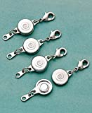 Hampton Direct Locking Magnetic Clasps - Set of 4 SILVER By Jumbl
