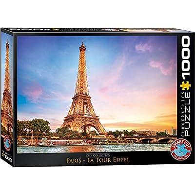 EuroGraphics Paris Eiffel Tower Puzzle (1000 Piece), Model:6000-0765: Toys & Games