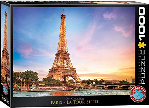 EuroGraphics Paris Eiffel Tower Puzzle (1000 - Tower Jigsaw Puzzle Eiffel