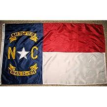 North Carolina State Flag 3'x5' NC USA Double Sided Banner