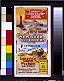 Photo: Photo,London & South Western Railway,England,Plymouth,Southampton,1890-1910