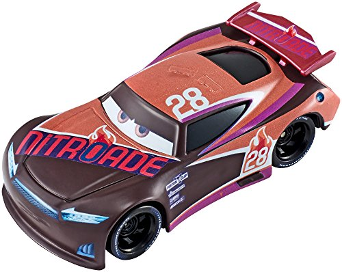 Disney/Pixar CARS 3 - Details & Downloadable Activity Sheets #Cars3 - Disney/Pixar Cars Die-Cast Next Gen Nitroade #28 Racer Vehicle