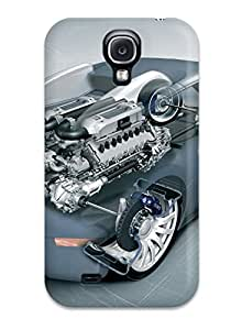 New Bugatti Veyron 20 Tpu Skin Case Compatible With Galaxy S4