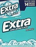 Wrigley's Sugar Free Gum, Extra Polar Ice, 14 Count