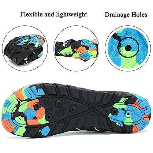 Pool Gray Sports Women Outsole Aqua Lxso Water for Beach Shoes Men Diving Quick Swim Yoga Dry Surf Durable Shoes Barefoot xpw61n0Hw