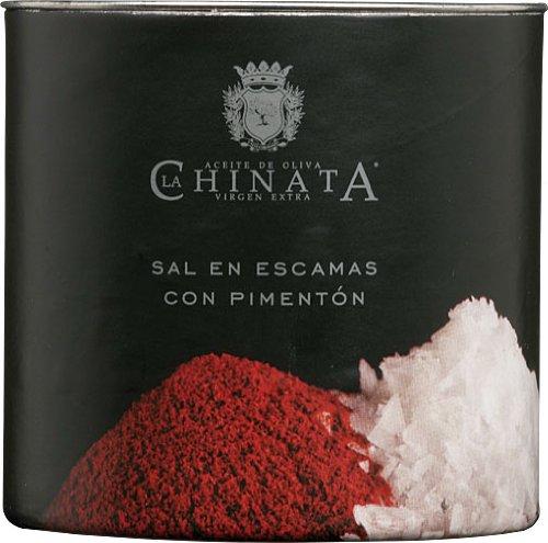 Sal Marina en Escamas 'Pimentón Ahumado' (165 g) – La Chinata