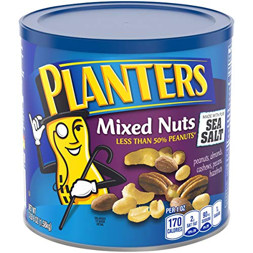 Planters Salted Mixed Nuts (3LB 8OZ Canister)