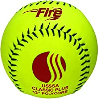 """Baden USSSA Classic Plus Synthetic Cover Slowpitch Softball 12"""" (One Dozen)"""
