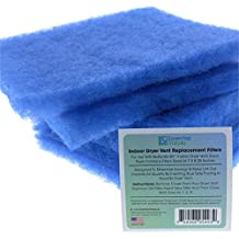 Replacement Filters For Bettervent Indoor Dryer Vent (12 Pack) By Essential Values