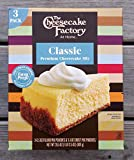The Cheesecake Factory Premium Cheesecake Mix 28.5oz (Classic)