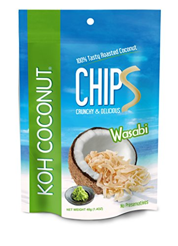 KOH Chips Wasabi 40g (12 pack) by heartfelt