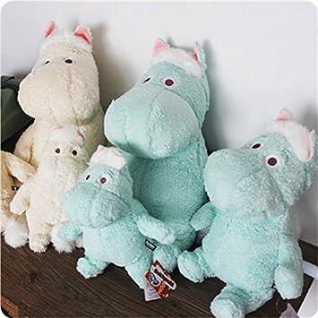 Amazon.com: Dibujos animados Moomin felpa muñeca hipopótamo ...