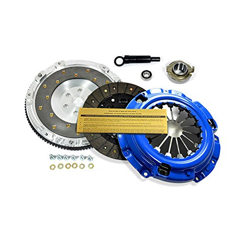 EFT STAGE 2 CLUTCH KIT+ALUMINUM FLYWHEEL FORD PROBE MAZDA MX-6 626 PROTEGE 2.0L