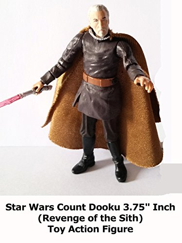 "Review: Star Wars Count Dooku 3.75"" Inch (Revenge of the Sith) Toy Action Figure"
