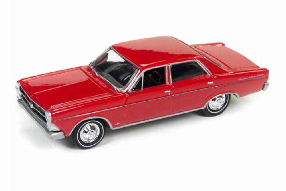 Amazon com: 1966 Ford Fairlane Sedan, Signal Flare Red