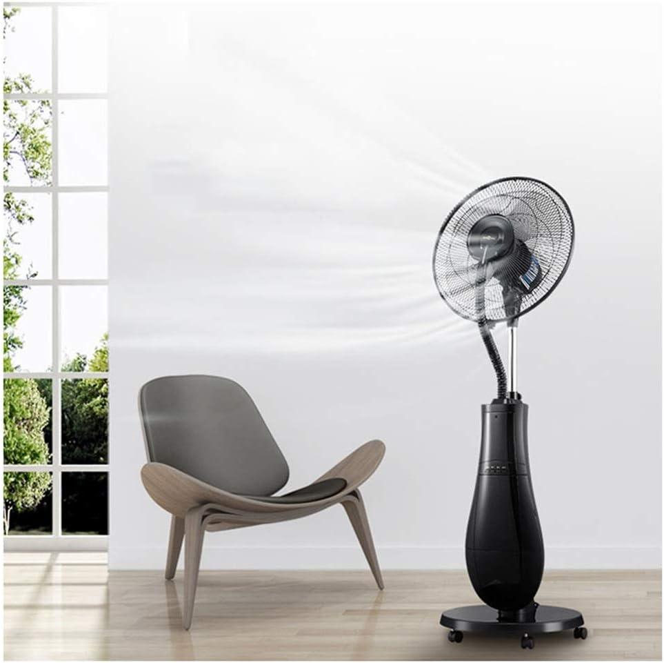 Ventilador Nebulizador Ventilador eléctrico oscilante Pedestal ...
