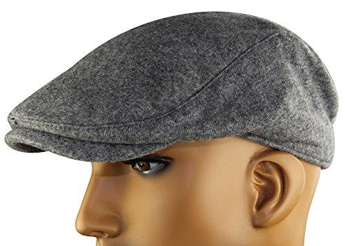 MINAKOLIFE Mens Womens Soft Wool Newsboy Hat Flat Cap Ivy Stretch Driver  Hunting Hat Beige at Amazon Men s Clothing store  bc43aae4b31